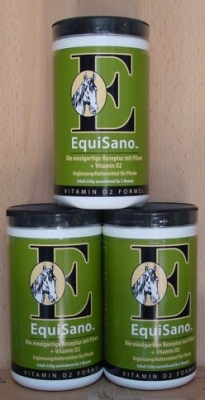 1x Equisano Mushrooms, 1 Dose zu 630g